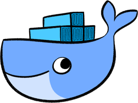 Cute Docker logo